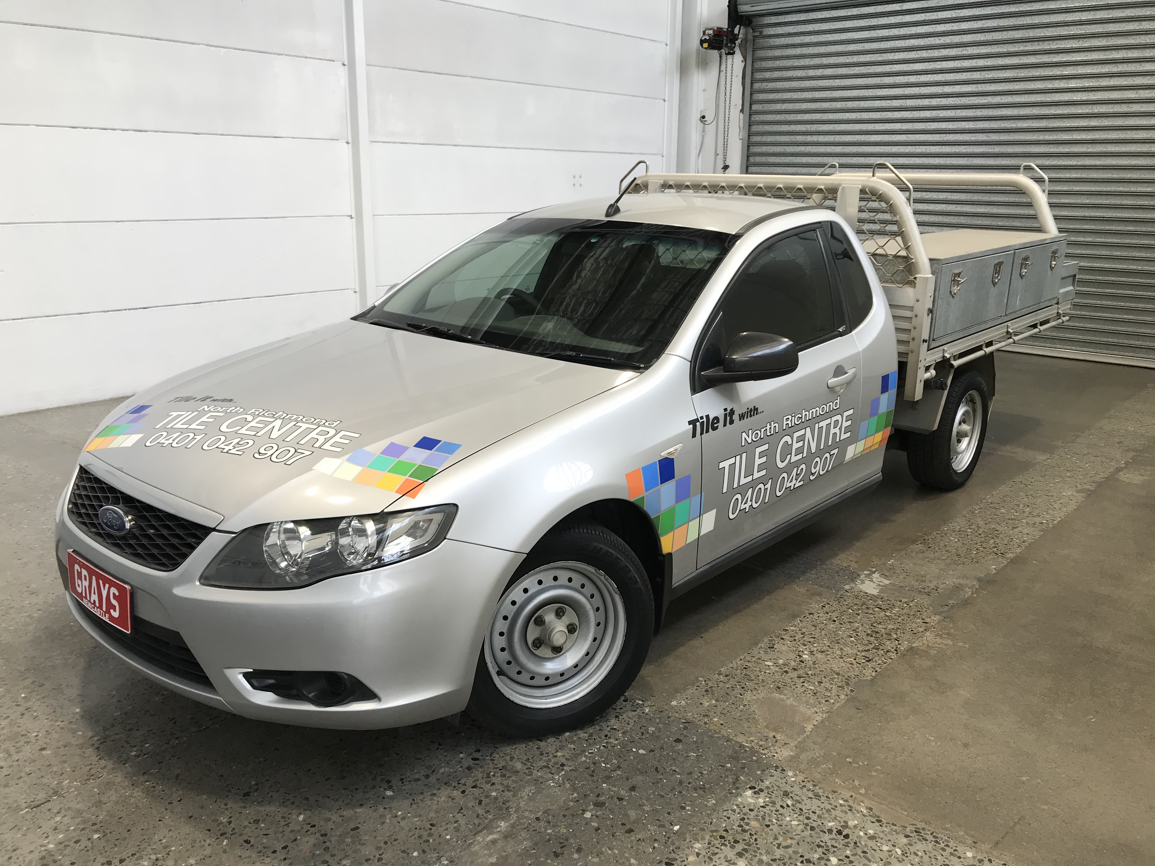 2008 Ford Falcon FG Automatic Cab Chassis