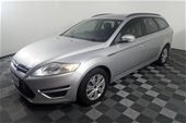 Unreserved 2012 Ford Mondeo LX TDCi MC T/D Wagon
