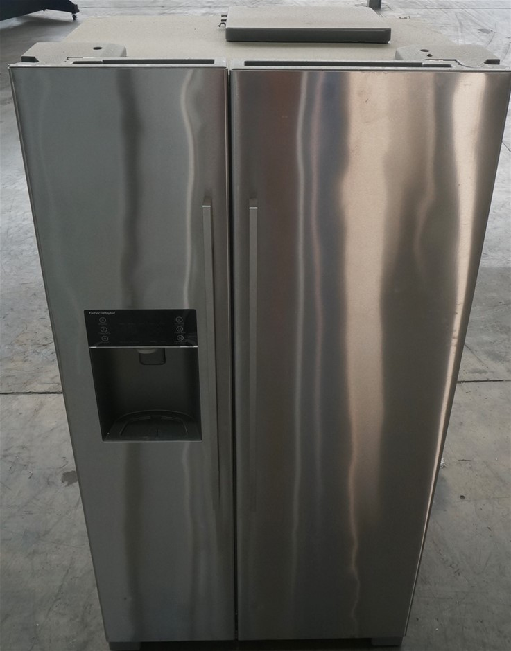 Fisher & Paykel 610L Stainless Steel Side by Side Fridge (RX611DUX1)