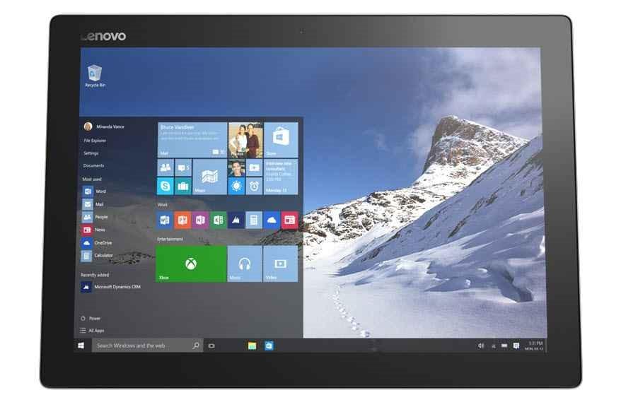 Lenovo IdeaPad MIIX 700-12ISK 12-inch Tablet with keyboard, Black