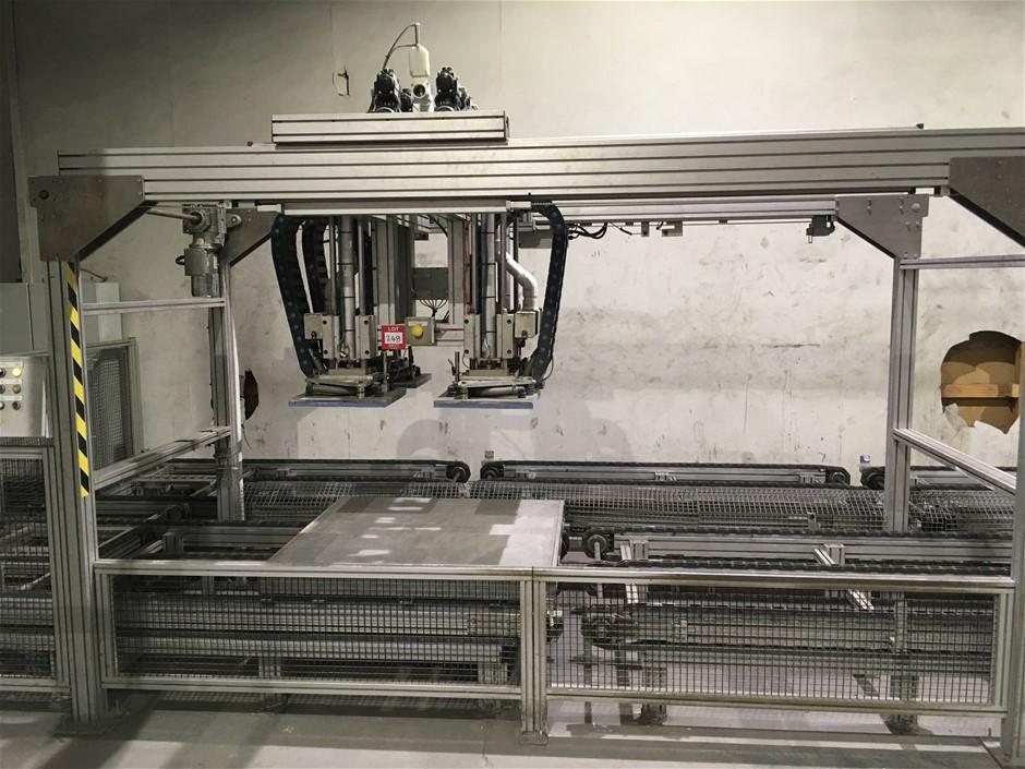Pneumatic lifting & positioning Gantry, Minitec aliminiom frame, Sensor hig