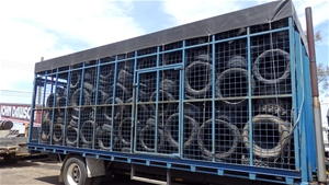 Truck Steel Cage Body