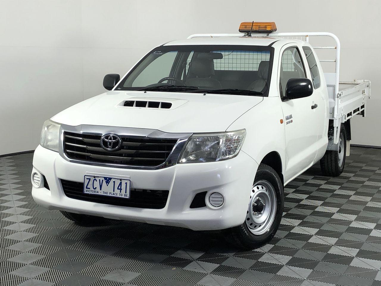 2012 Toyota Hilux 4X2 SR KUN16R Turbo Diesel Manual Ute (EX GOV)