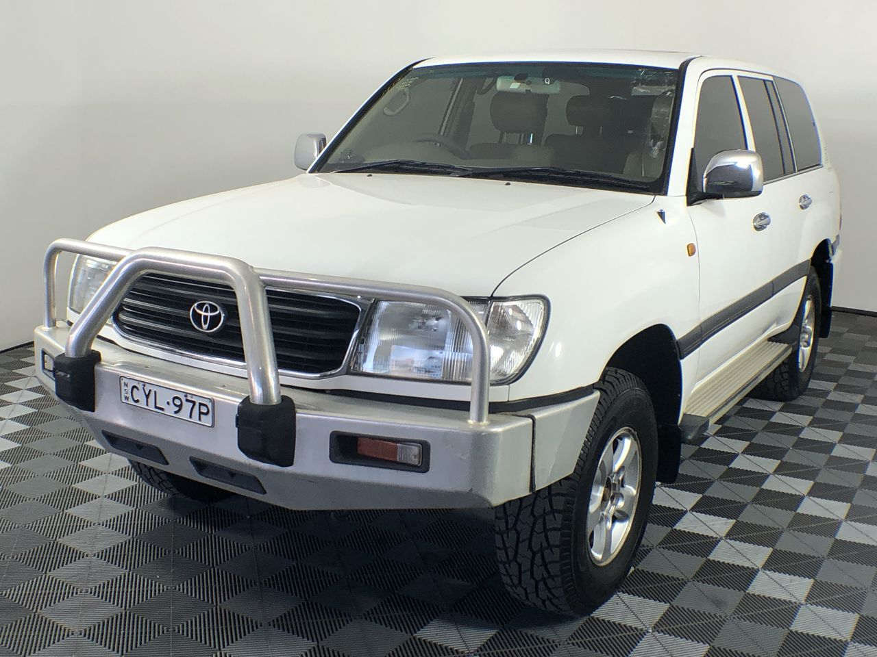 1999 Toyota Landcruiser GXL (4x4) FZJ105R Automatic 7 Seats Wagon