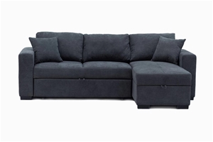 Eva 2.5 Seater Sofa Bed with Storage Cha