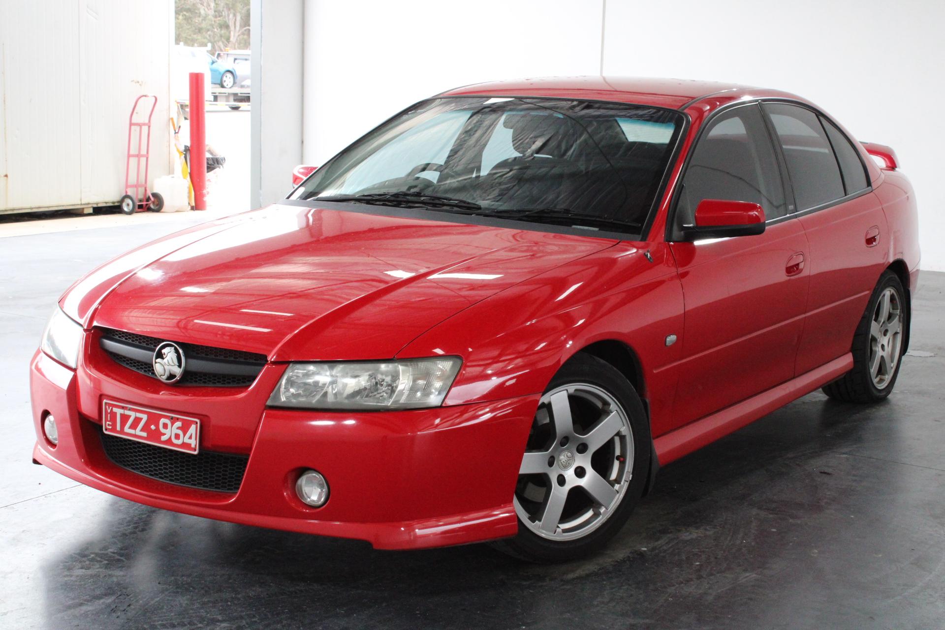 2006 Holden Commodore SV6 VZ Automatic Sedan. RWC supplied