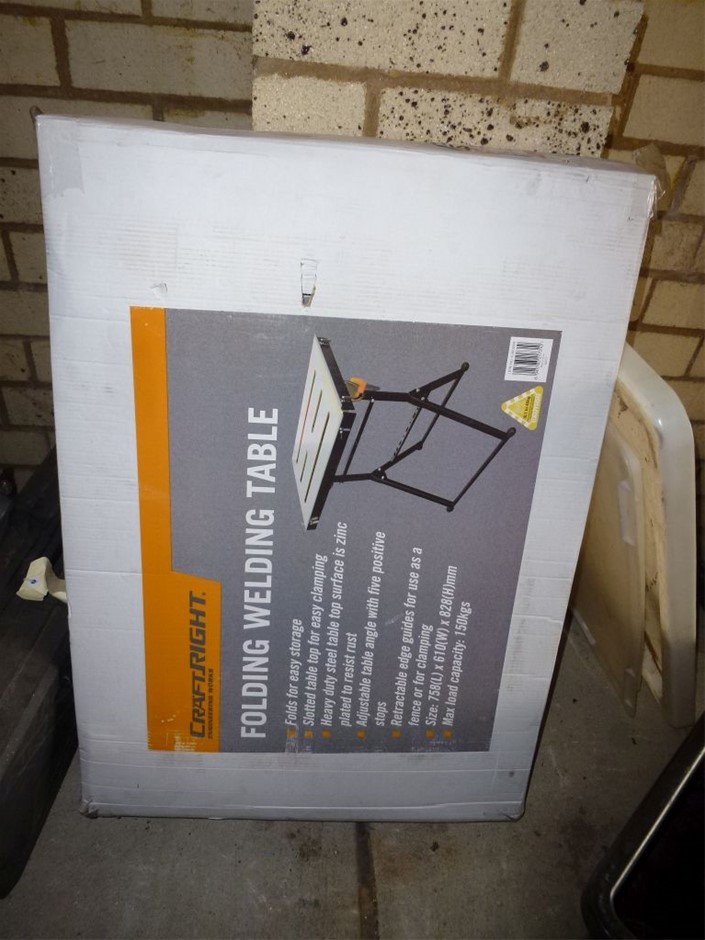 Craft Right Folding Welding Table