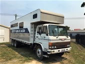 1989 HINO AF19 6 x 2 Horse Truck