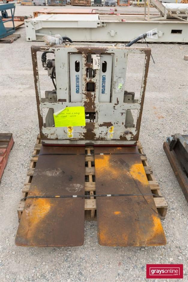 Cascade 45E-PAS-A001 Forklift Attachment Wide Tynes Build Date:
