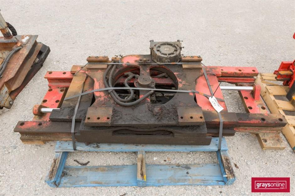 Forklift Backing Plate Backing Plate: (W)1820mm Damage: Sc