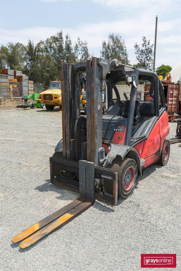 2006 4.0 Tonne Linde H40T 4 Wheel Counter Balance Forklift