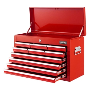 Giantz 10-Drawer Tool Box Chest Cabinet