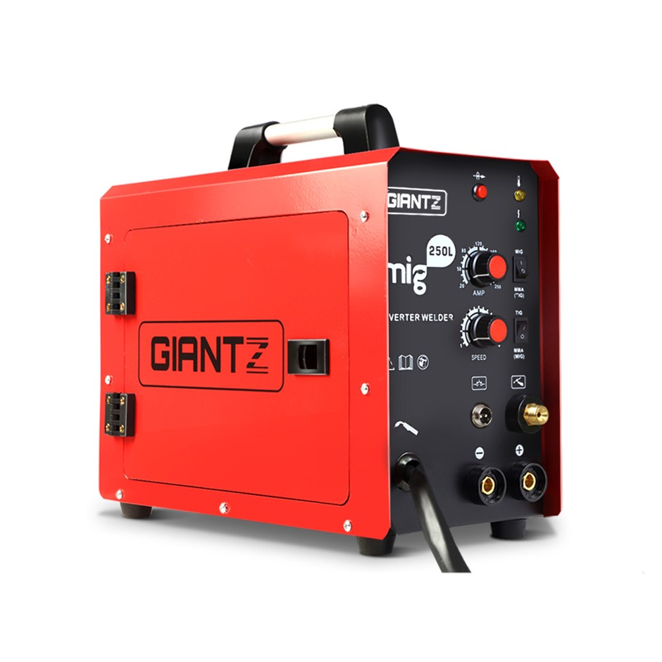 Giantz MIG Welding Machine DC Inverter Welder MAG MMA ARC Gas Gasless