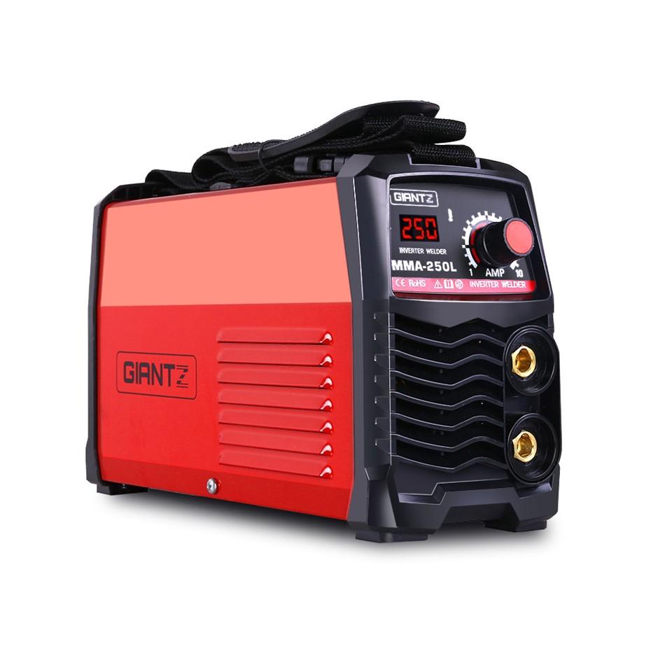 Giantz Portable Inverter Welder MMA ARC Stick iGBT DC Welding 10A Plug