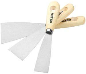 3 x TOLSEN 3pc Painters Scraper Sets. (S