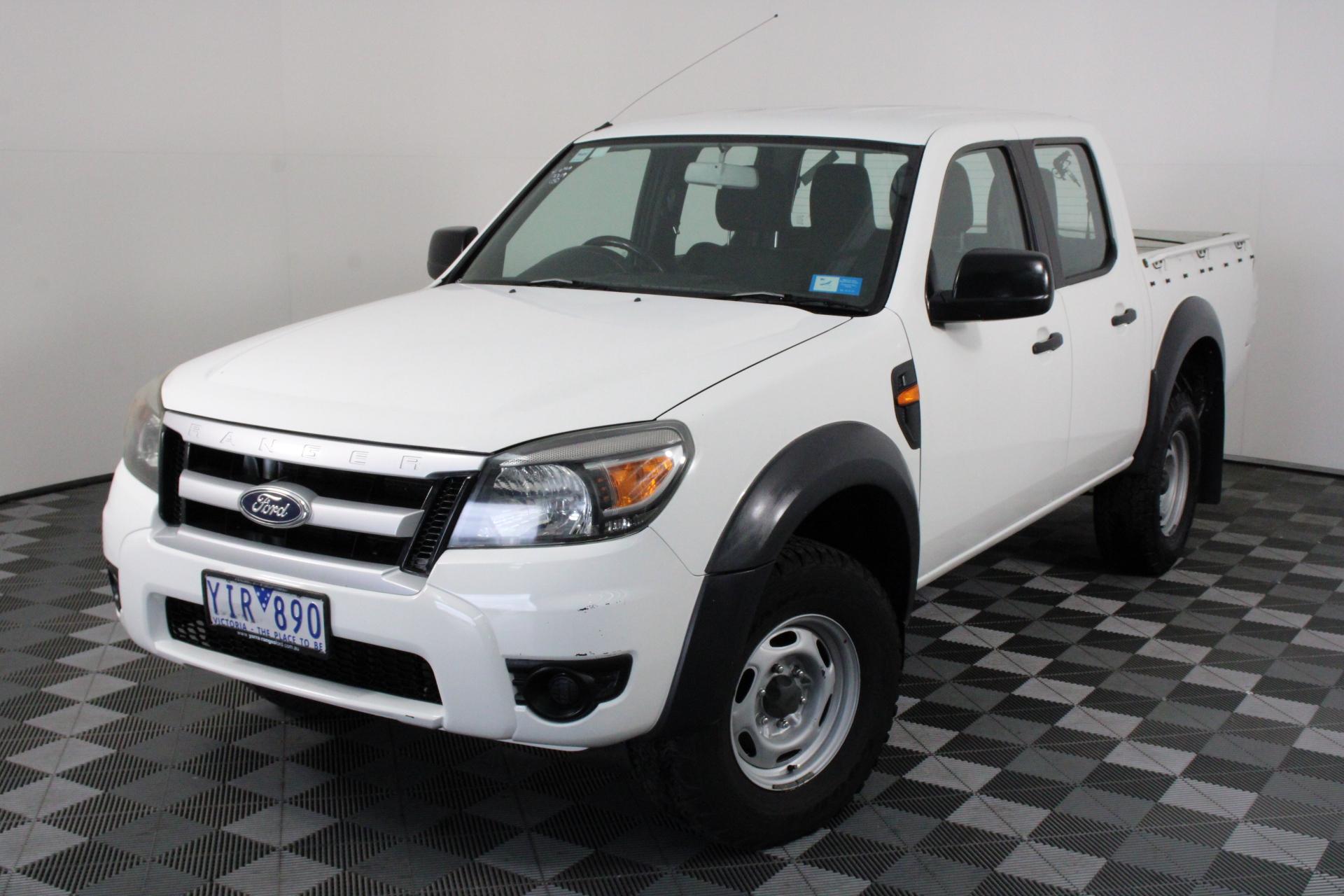 2011 Ford Ranger XL (4x2) PK Turbo Diesel Automatic Dual Cab (EX GOV)