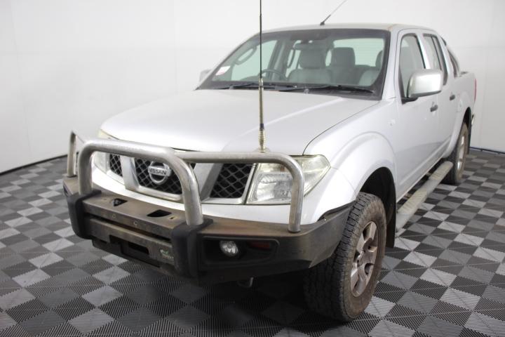 2007 Nissan Navara ST-X (4x4) D40 Automatic Dual Cab
