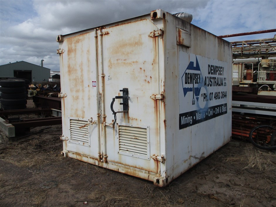 10 Foot Bunded Shipping Container
