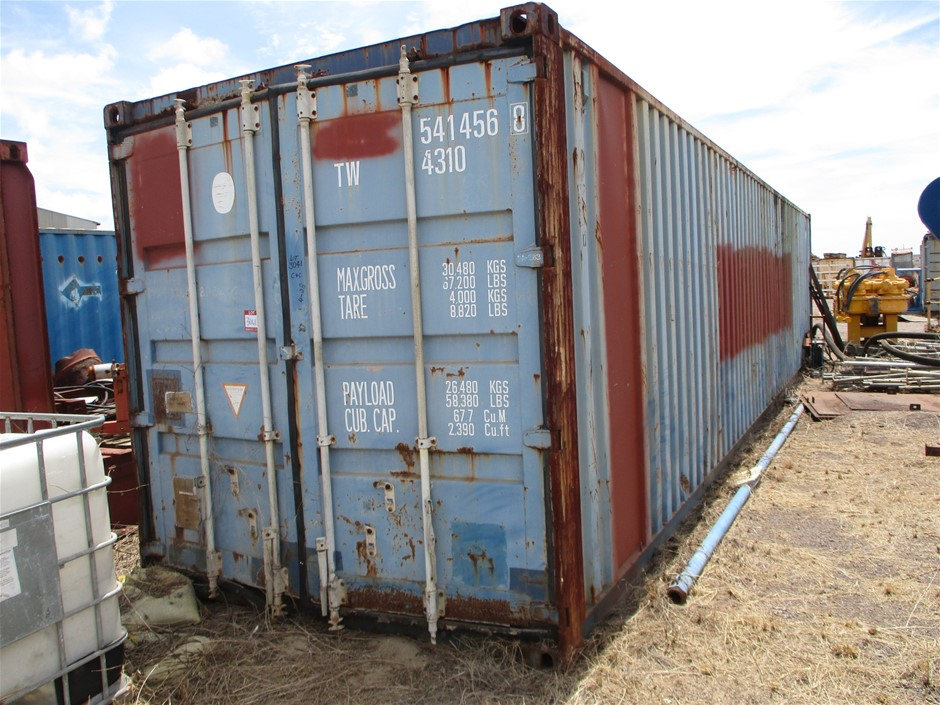 40 Foot Shipping Container with Contents