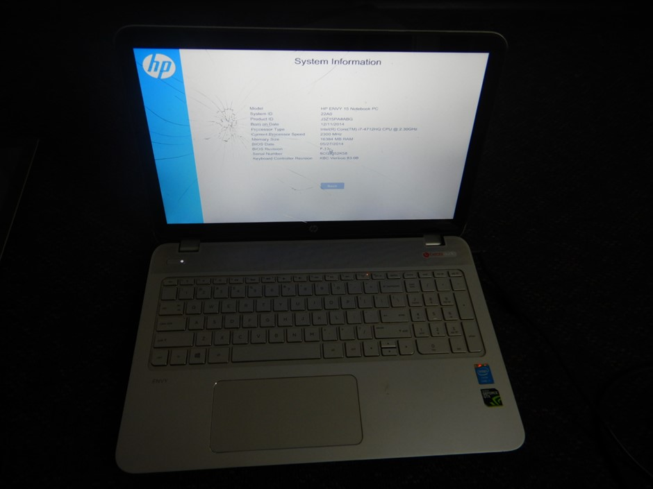 2014 HP ENVY 15 Notebook PC Laptop