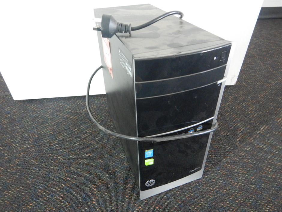 HP 500-406A Desktop Computer