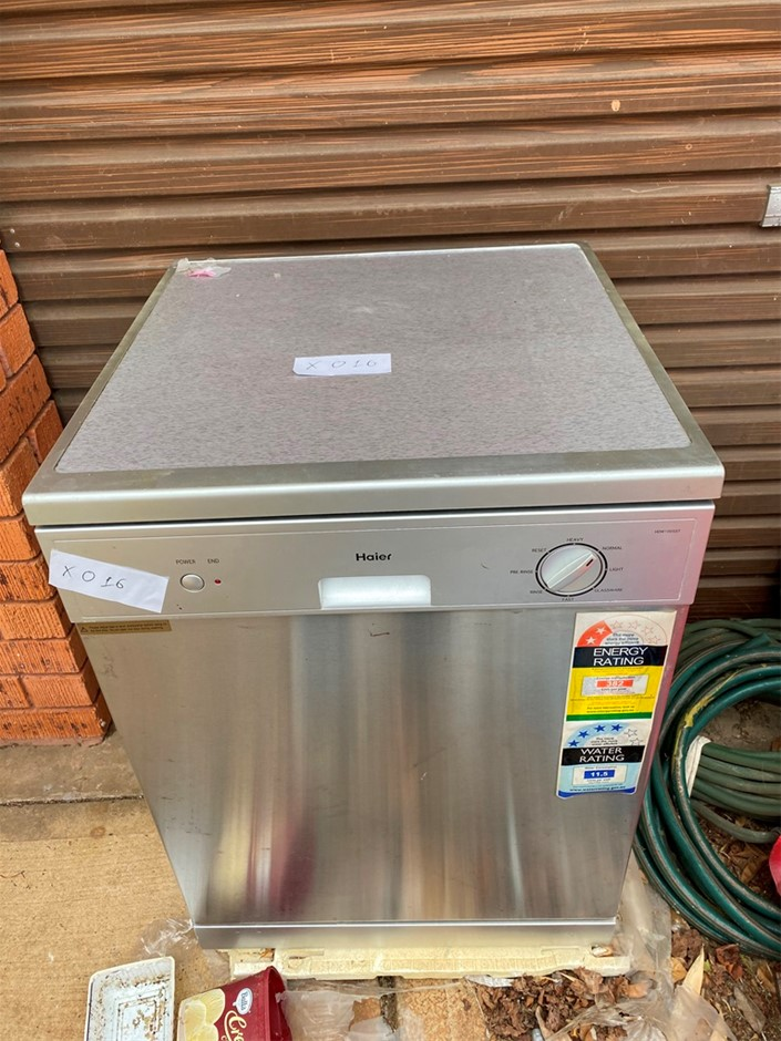 Haier Dishwasher, Standard Functions As New