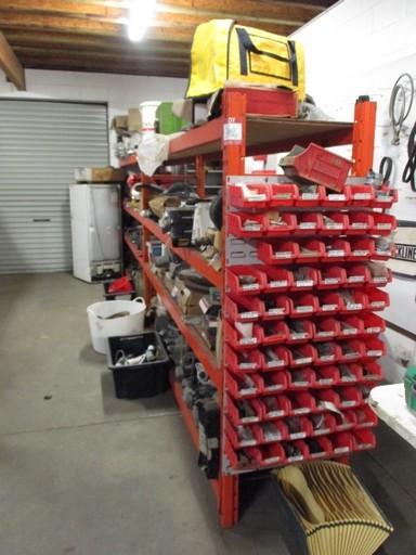 Shelf Unit with Contents