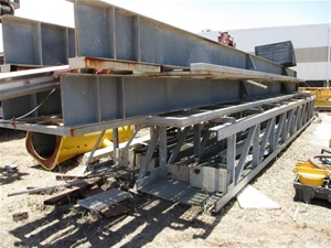 Qty 4x Fabricated Steel Sections