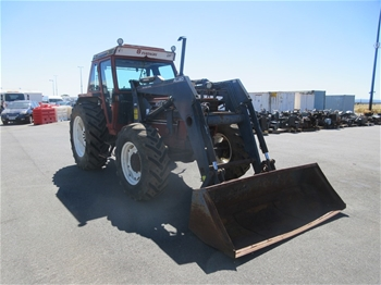 Fiat 100-90DT 4WD Cab Tractor