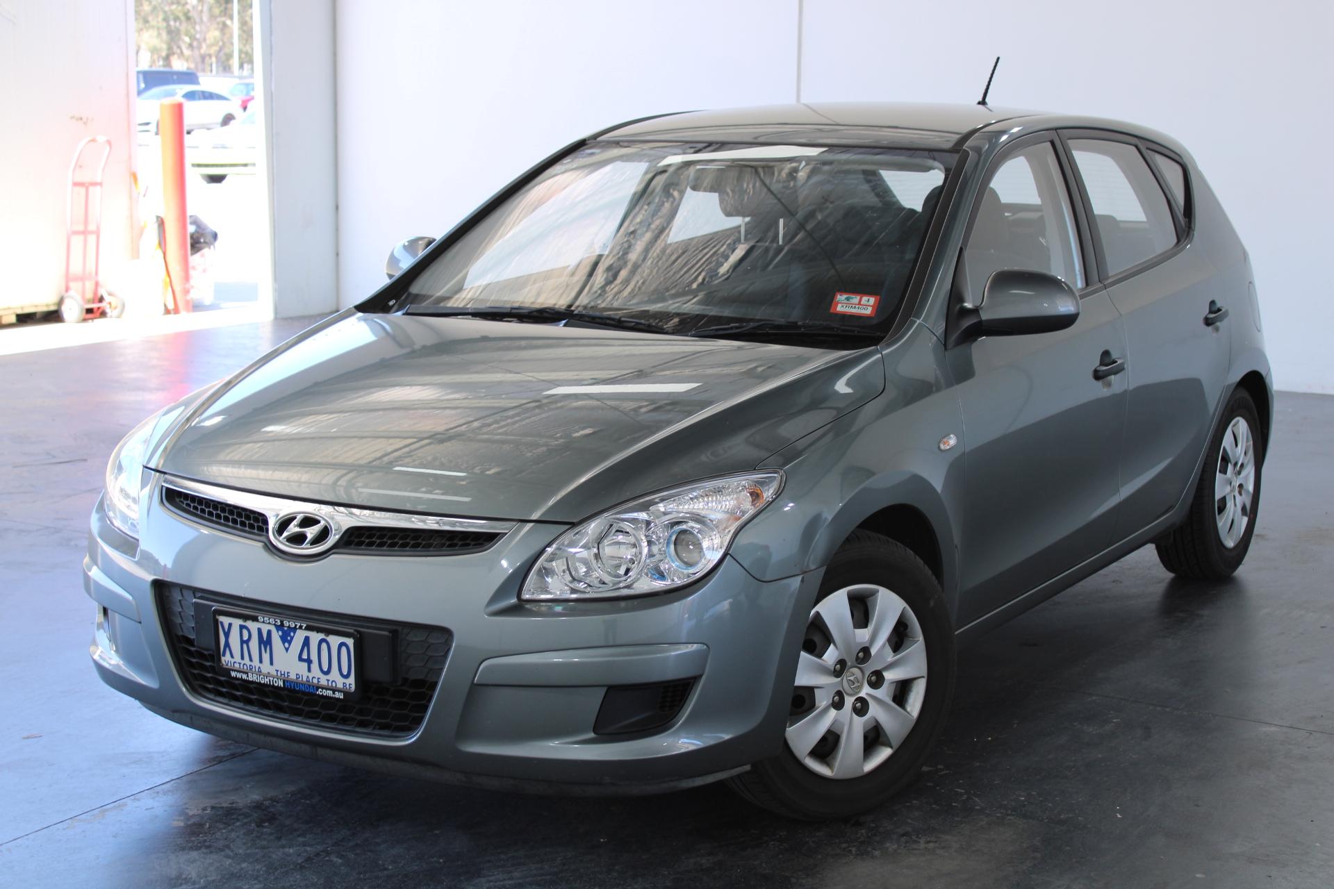 2010 Hyundai i30 SX 1.6 CRDi FD Turbo Diesel Manual Hatchback