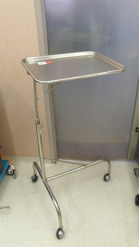 Mayo portable surgical instrument stand