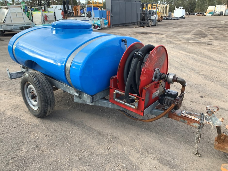 Western Trailers Water Cart Approx 800 litres
