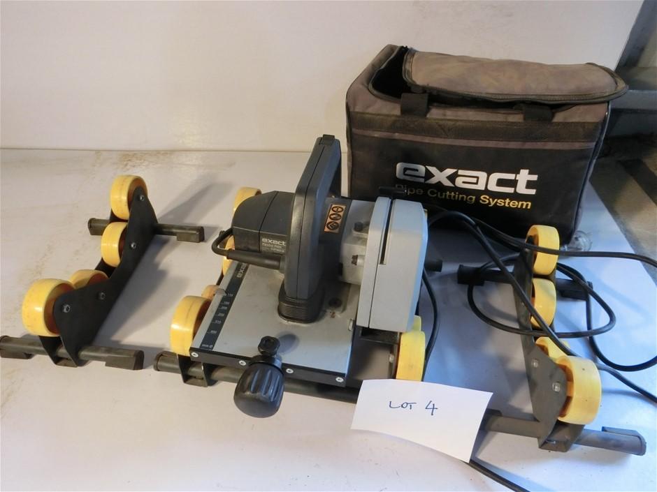 EXACT CUT P400 PVC/HDPE pipe cutter / beveller kit (Pooraka, SA)