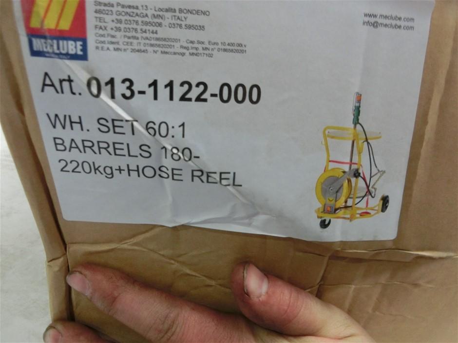 Meclube Grease Trolley Kit 60:1 (Pump, Trolley, Reel + Gun) (Pooraka, SA)