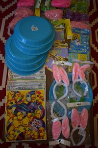 Box of Assorted Easter cards and items f