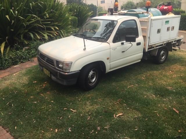 2001 4 x 2 Toyota Hilux Ute with spray unit