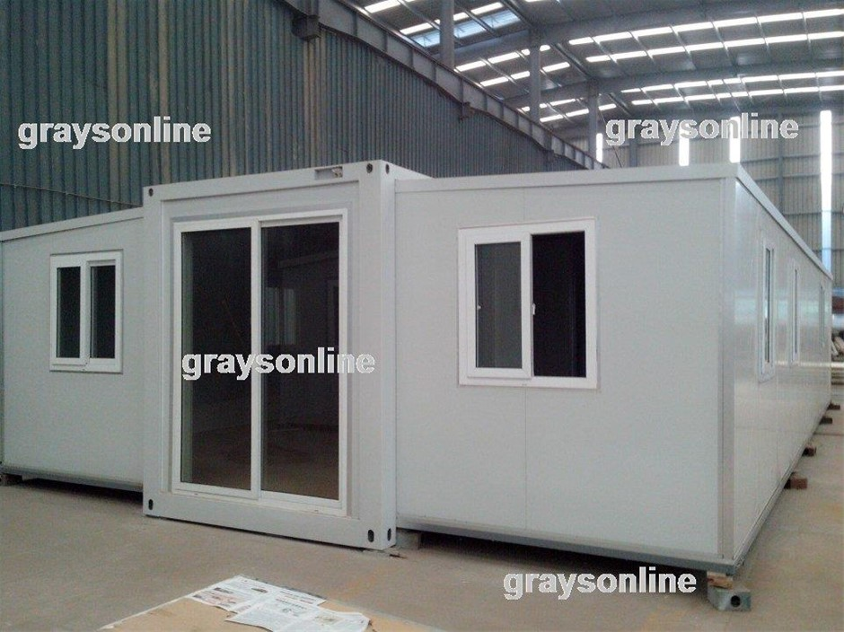40ft Container Home Expandable