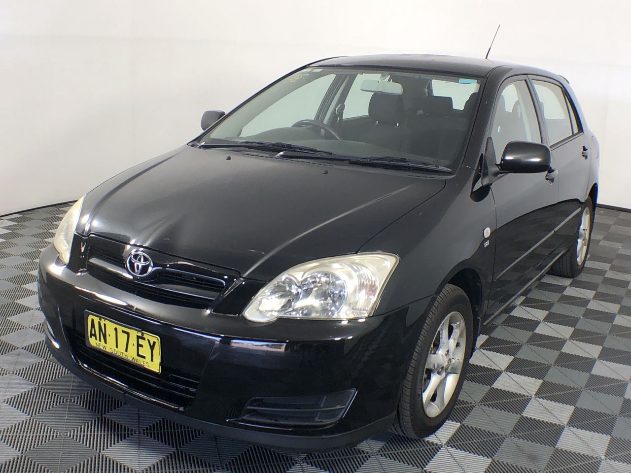 2006 Toyota Corolla Ascent Sport Seca ZZE123R Automatic Hatchback