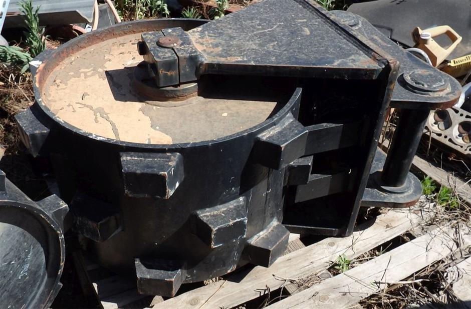 Excavator Compaction Wheel,unused