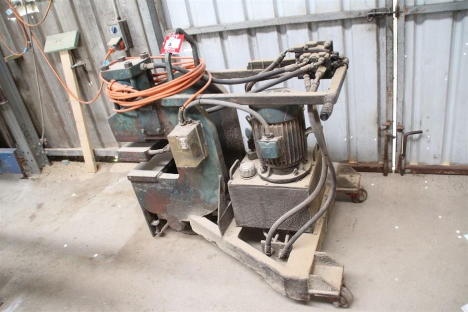Mobile Hydraulic Truss Framing Press