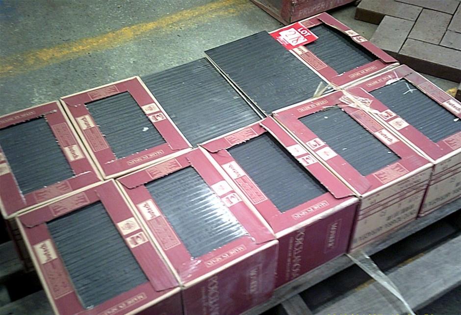10 boxes of Monker Textured Porcelain Tiles. 200mm x 316mm.