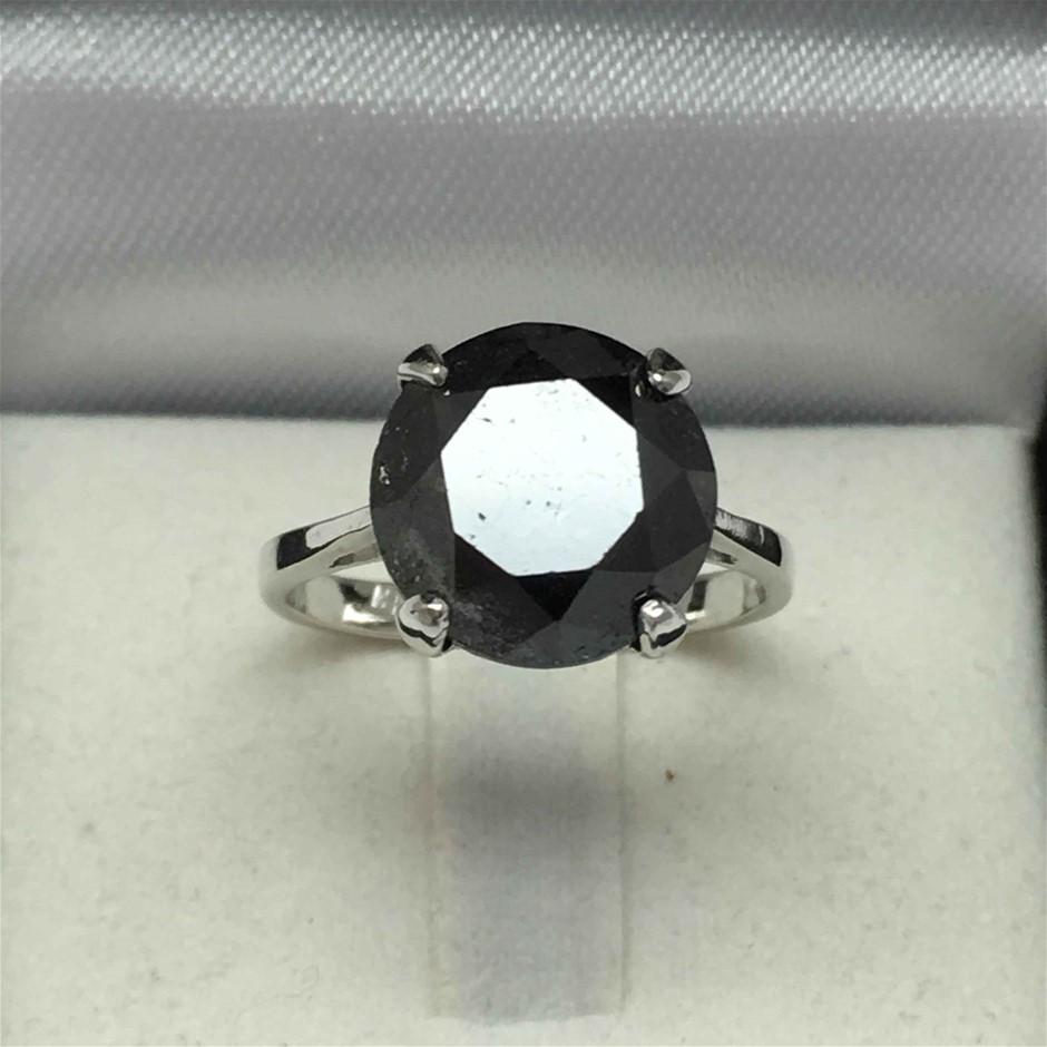 18ct White Gold, 2.91ct Diamond Ring