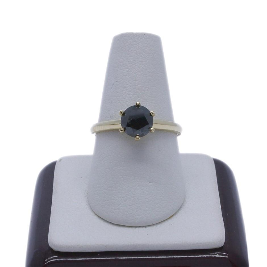 18ct Yellow Gold, 1.30ct Diamond Ring