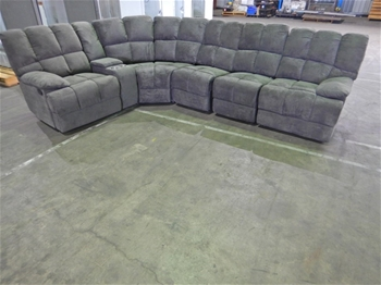 Southport 5 Seater Modular Corner - Licorice