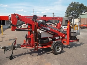 Trailer Mounted Boom 10.2m
