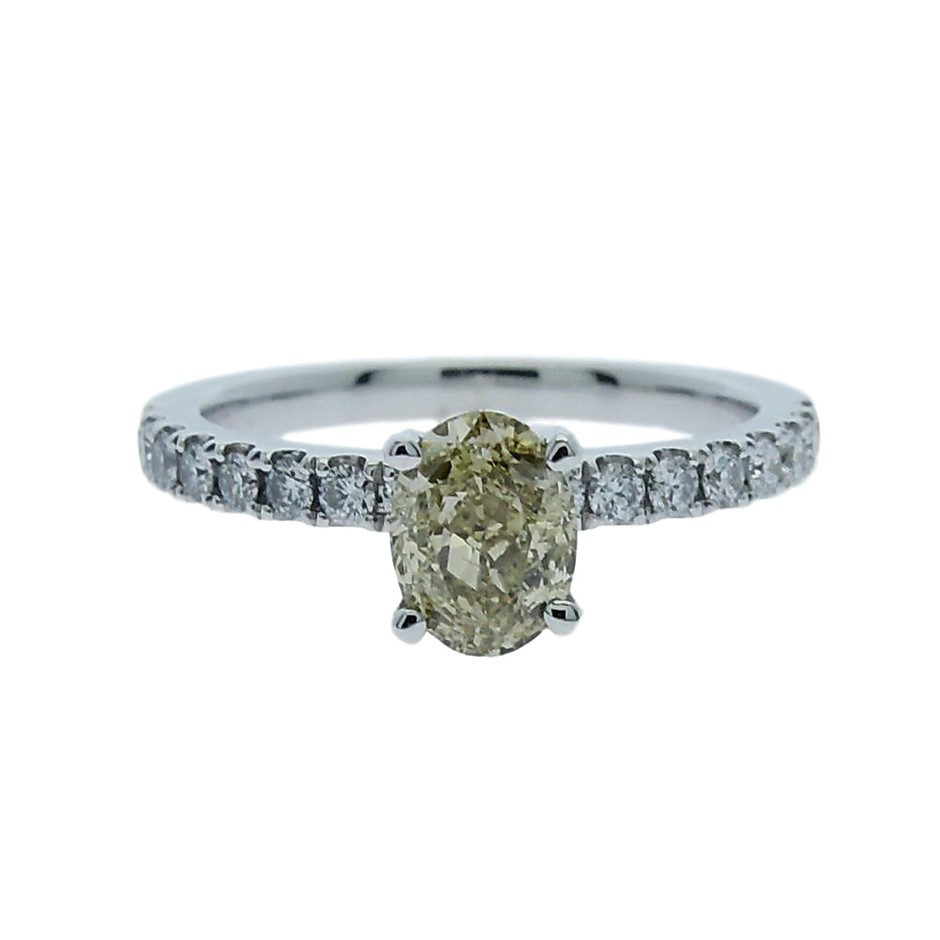 18ct White Gold, 1.35ct Diamond Ring