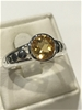 Truly Magnificent 2.50ct Citrine Ring  Size P 1/2 (8)