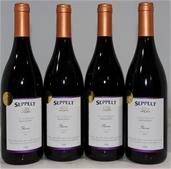 Seppelt Premium Reserve Shiraz 2001 (4x 750mL), Victoria. Cork closure.