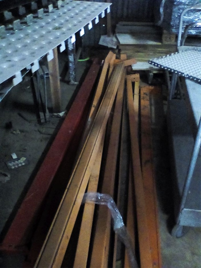 Pallet racking, as photoed Located: 7a Bellfield ave Rossmore Inspe