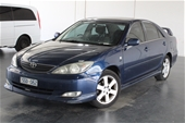 Unreserved 2003 Toyota Camry Sportivo ACV36R Manual Sedan
